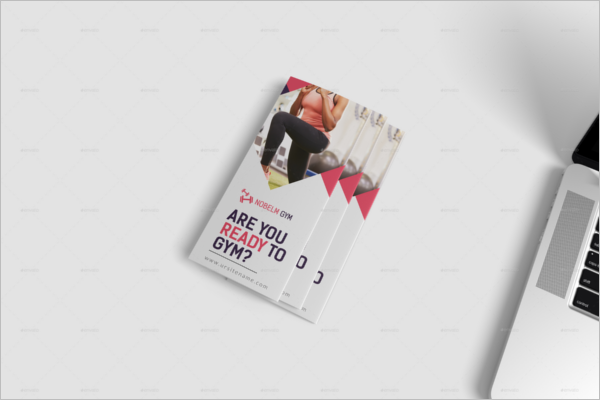 GYM Layered Brochure Design
