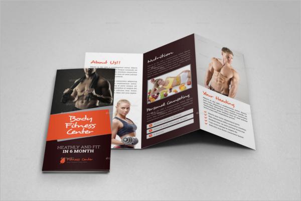 GYM Trifold Brochure Design