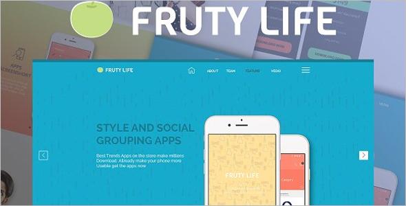 Game App HTML5 Landing Page Theme