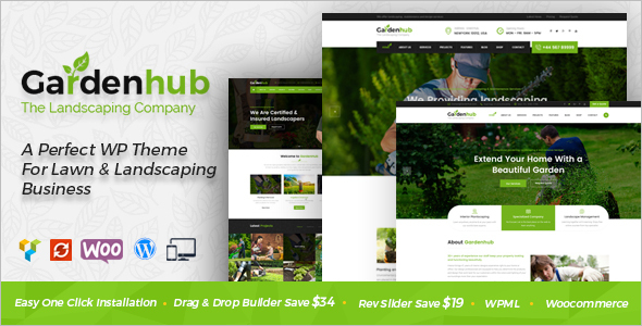 Garden WordPress Template