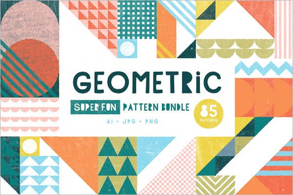 Geometric Triangle Patterns