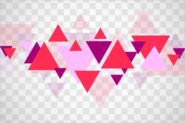 Geometric Triangles Forms Template