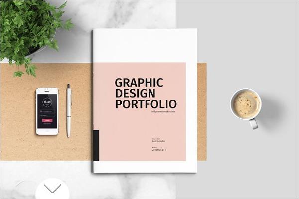 Graphic Design Portfolio Broucher Template