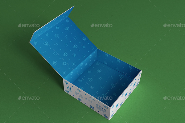 Graphical Gift Box MockUp Design