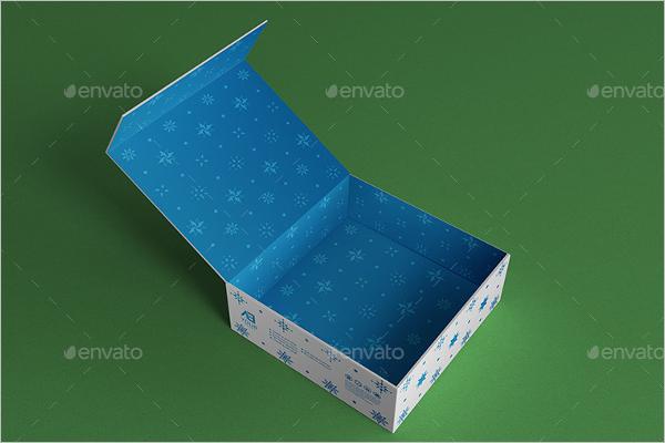 GraphicalGift Box MockUp Design