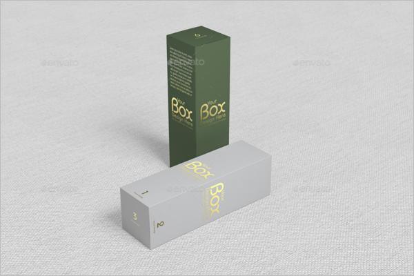 Green & White Gift Box Design