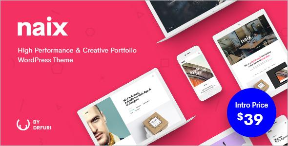 Grid Style Based WordPress Theme