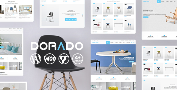 Grid Style Furniture WordPress Template