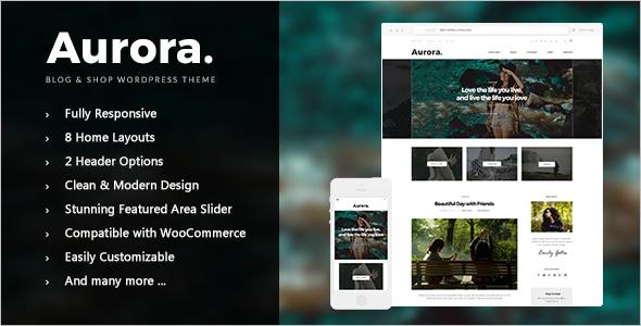 Grid Style WordPress Magazine Theme