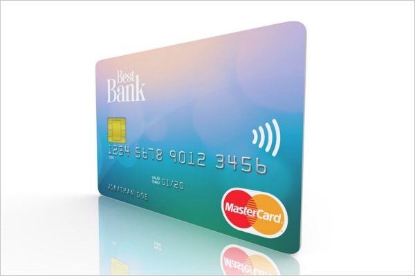HD Credit Card Mockup Template