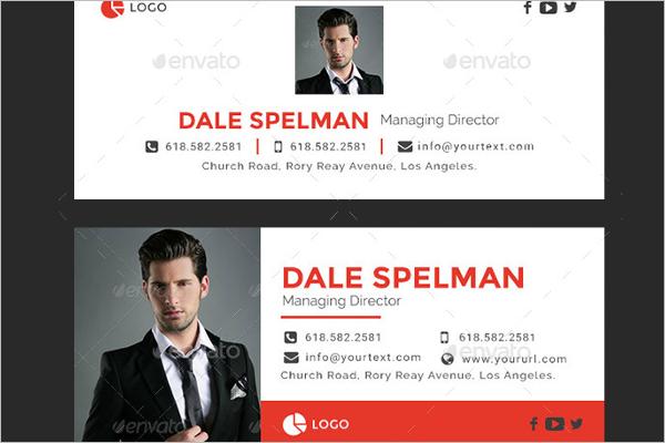 HTMLEmail Signature Design
