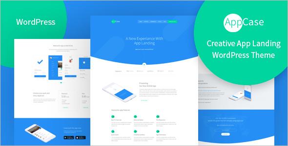 HTML5 App Landing Page Theme