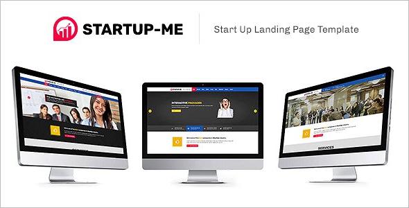 HTML5 CSS3 Landing Template