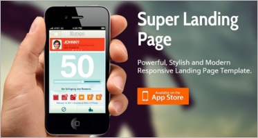 HTML5 Landing Page Themes