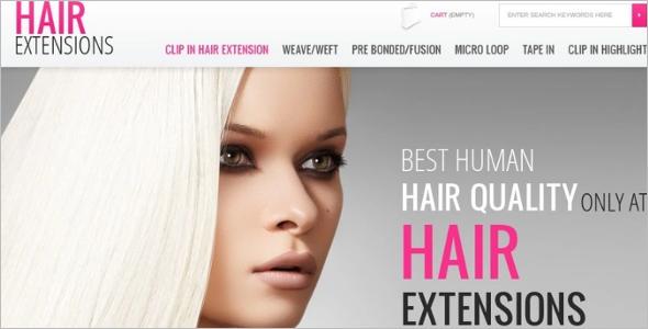 Hair Color PrestaShop Theme