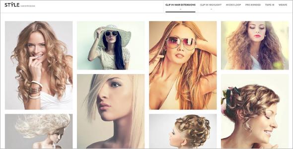 Hair SalonPrestaShop Theme