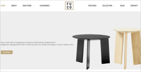Handmade Furniture Prestashop 1.7 Theme
