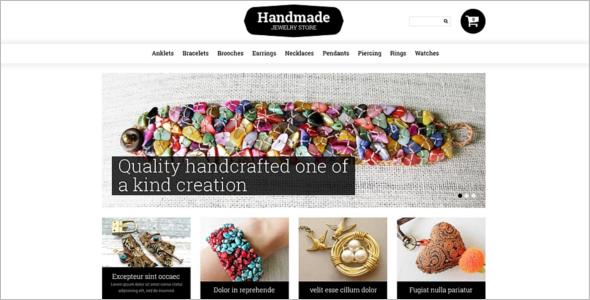 Handmade Jewelry PrestaShop Template