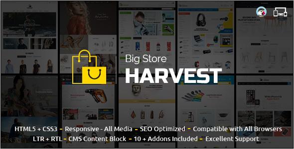 Harvest Multipurpose Prestashop Theme