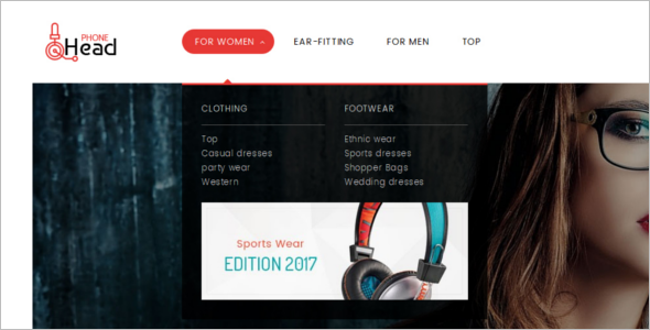 Headphone Electronic Prestashop Theme