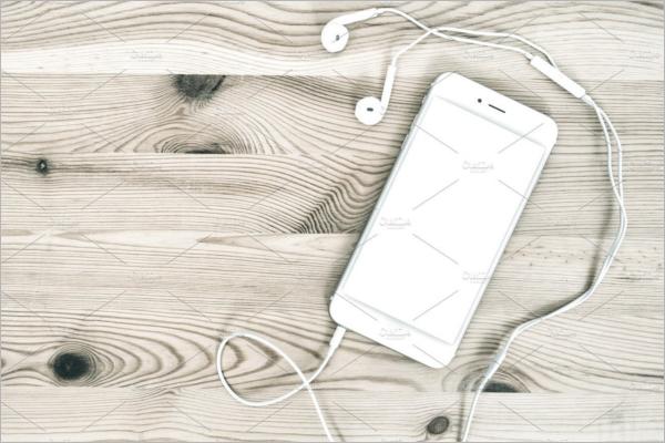 Headphones PSD Mockup Template