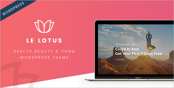 Health Beauty & Yoga WordPress Theme