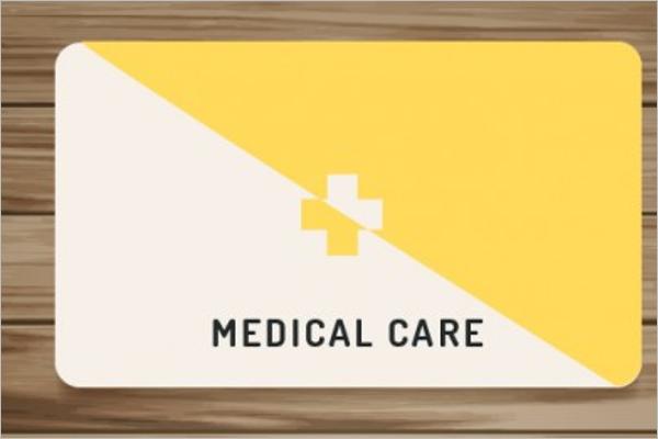 Health Care Business Card