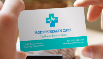 Healthcare Business Card Templates
