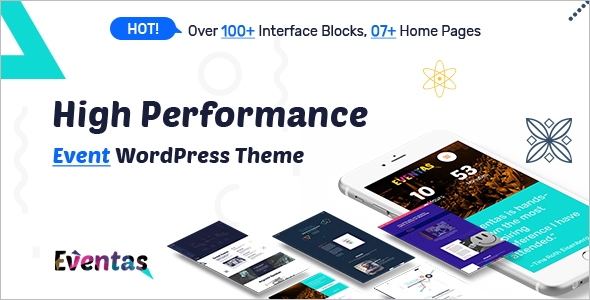 High Performance Event WordPress Theme