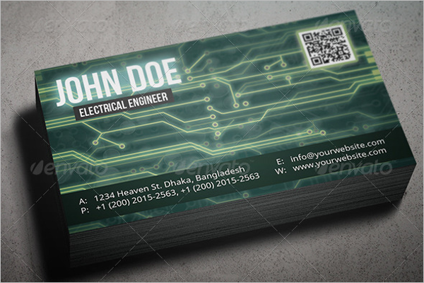 High Resolution Business Card Template