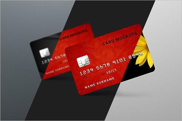 High ResolutionCreditCard Mockup Design