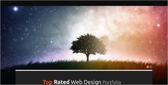 High Resolution WordPress Theme