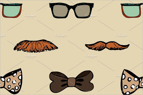 Hipster Background Illustration Pattern