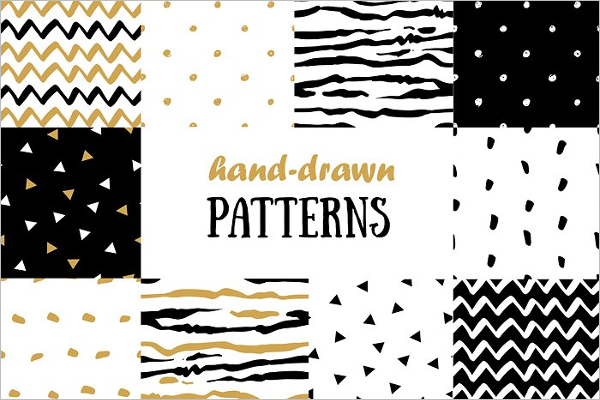 Hipster Hand Drawn Patterns