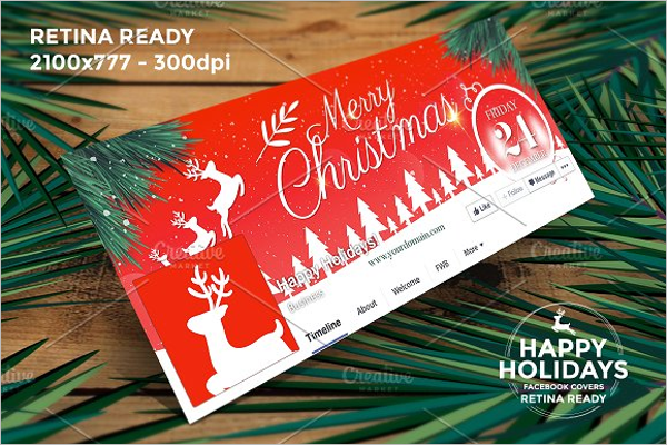 Holiday Christmas Facebook Cover