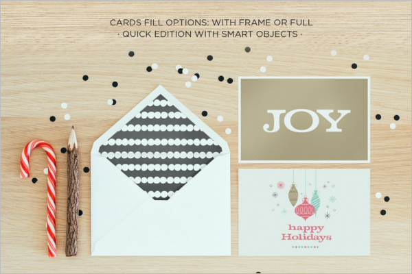 Holiday Greeting Envelope Design