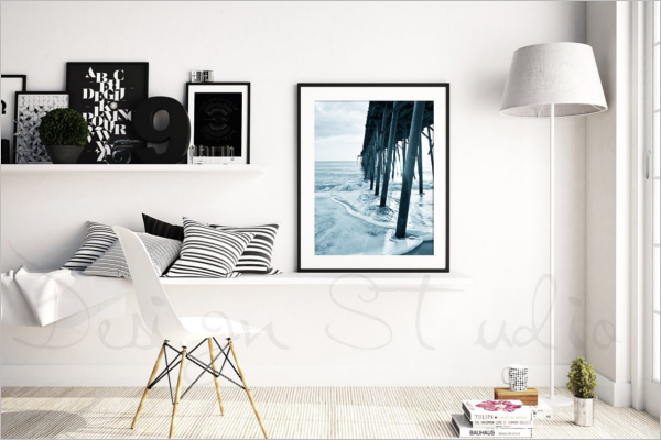 Home Decorative Photo Frame Template