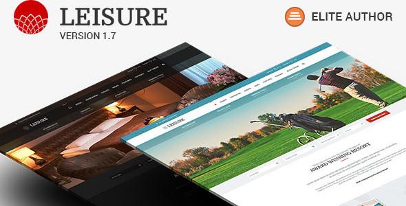 Hotel WordPress Template