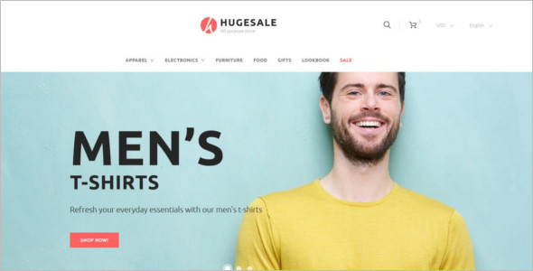 Hugesale PrestaShop Template