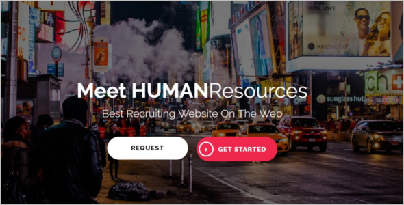 Human Resource Job WordPress Theme