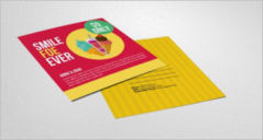 22+ Ice Cream Post Card Templates