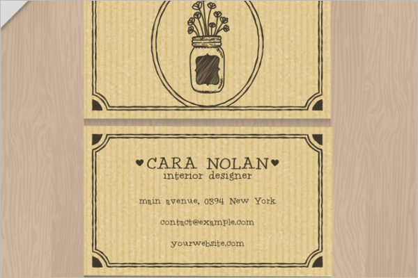 Interior Brillaiant Designer Card