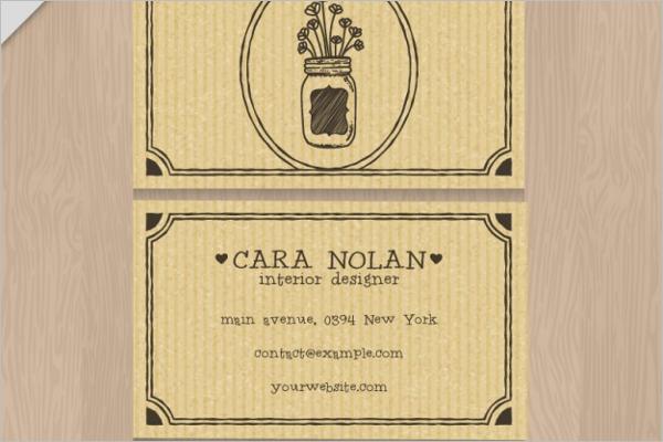 Interior Brillaiant Designer Card