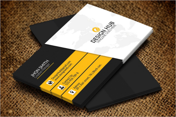 Interior Business Card Template