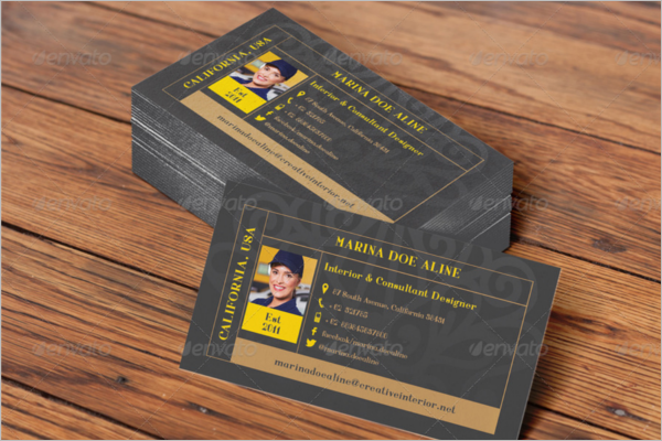 Interior Business Card