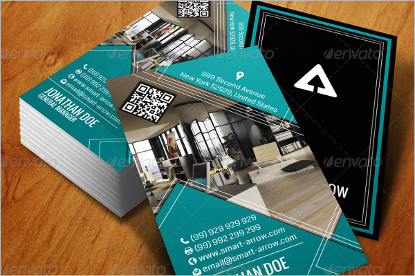 Interior Decoration Business Card