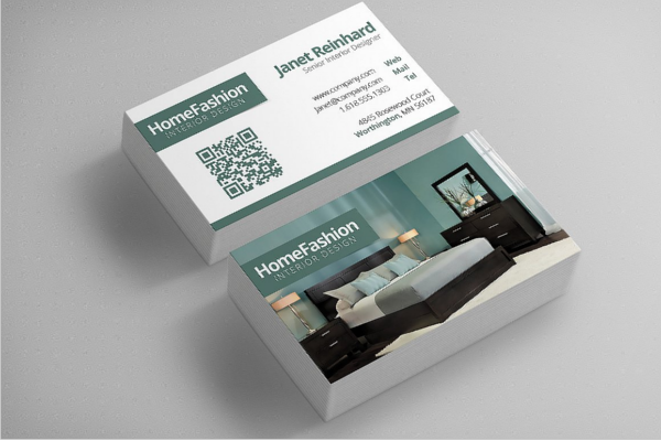 Interior design business card templates free premium templates interior design business card reheart Images