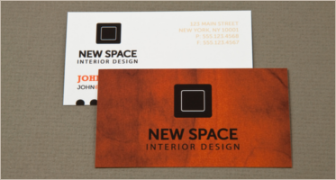 Interior Design Business Cards