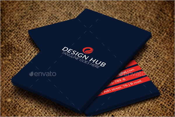Interior Design Visiting Card