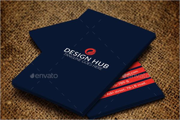 Interior Design Visiting Card
